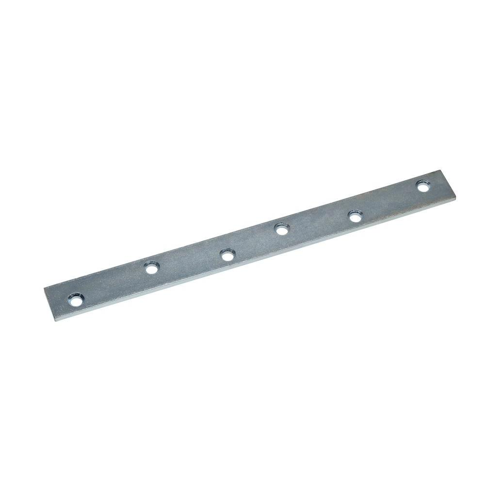 10 in. Zinc-Plated Mending Plate