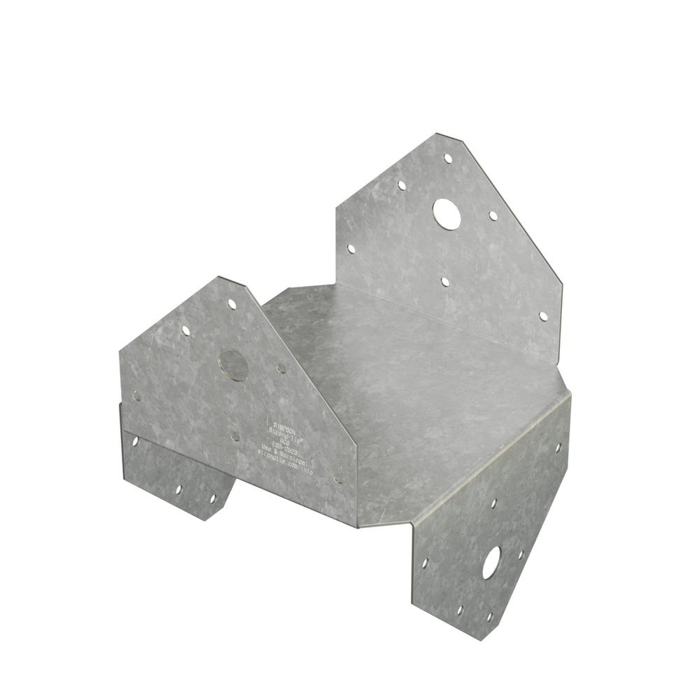 BC 6x Galvanized Post Cap/Base