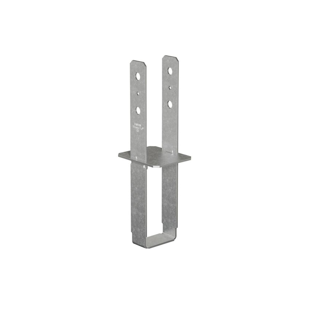 CB 4 in. x 6 in. Galvanized Column Base
