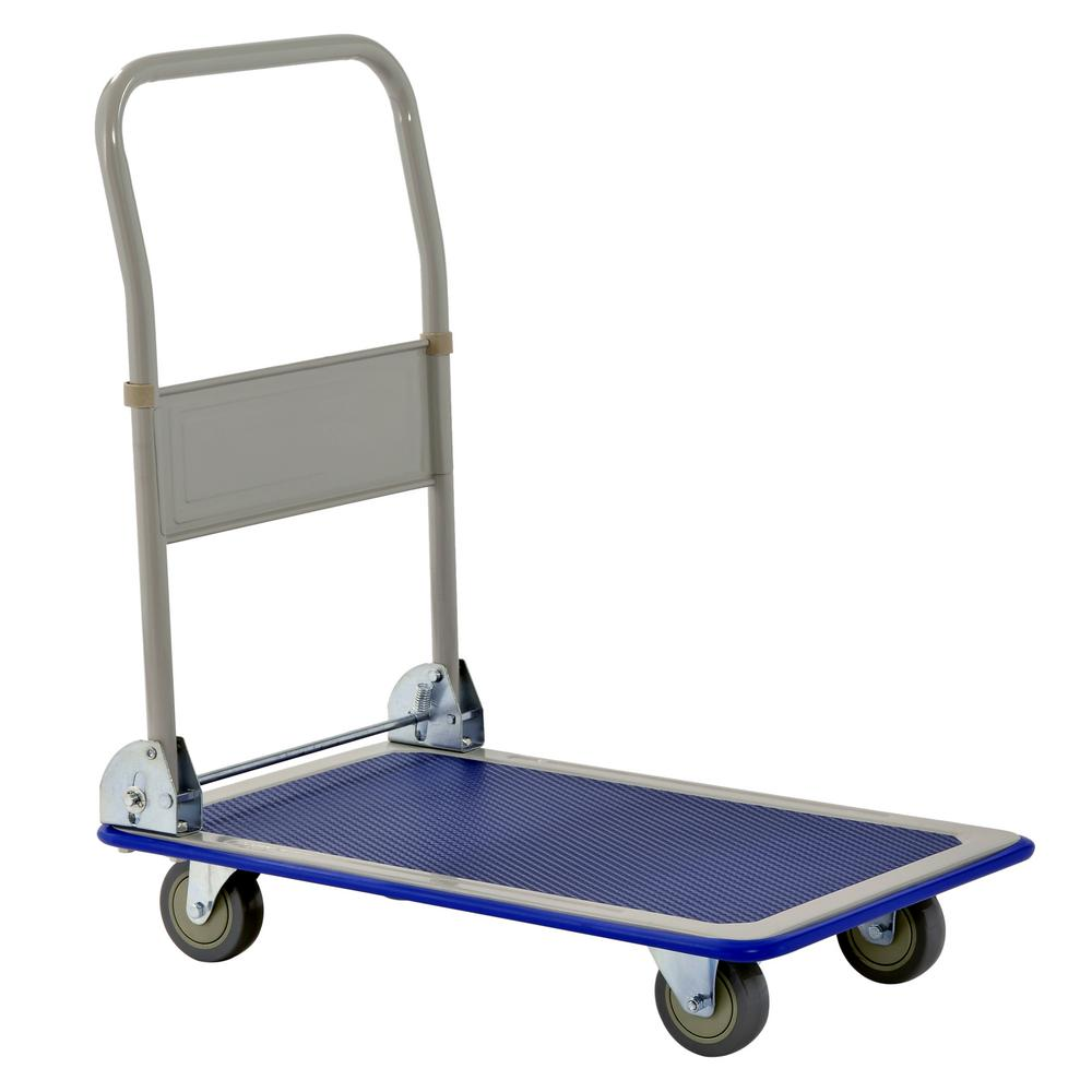 330 lbs. Capacity 11 in. H x 18 in. W x 29 in. L Folding Platform Cart
