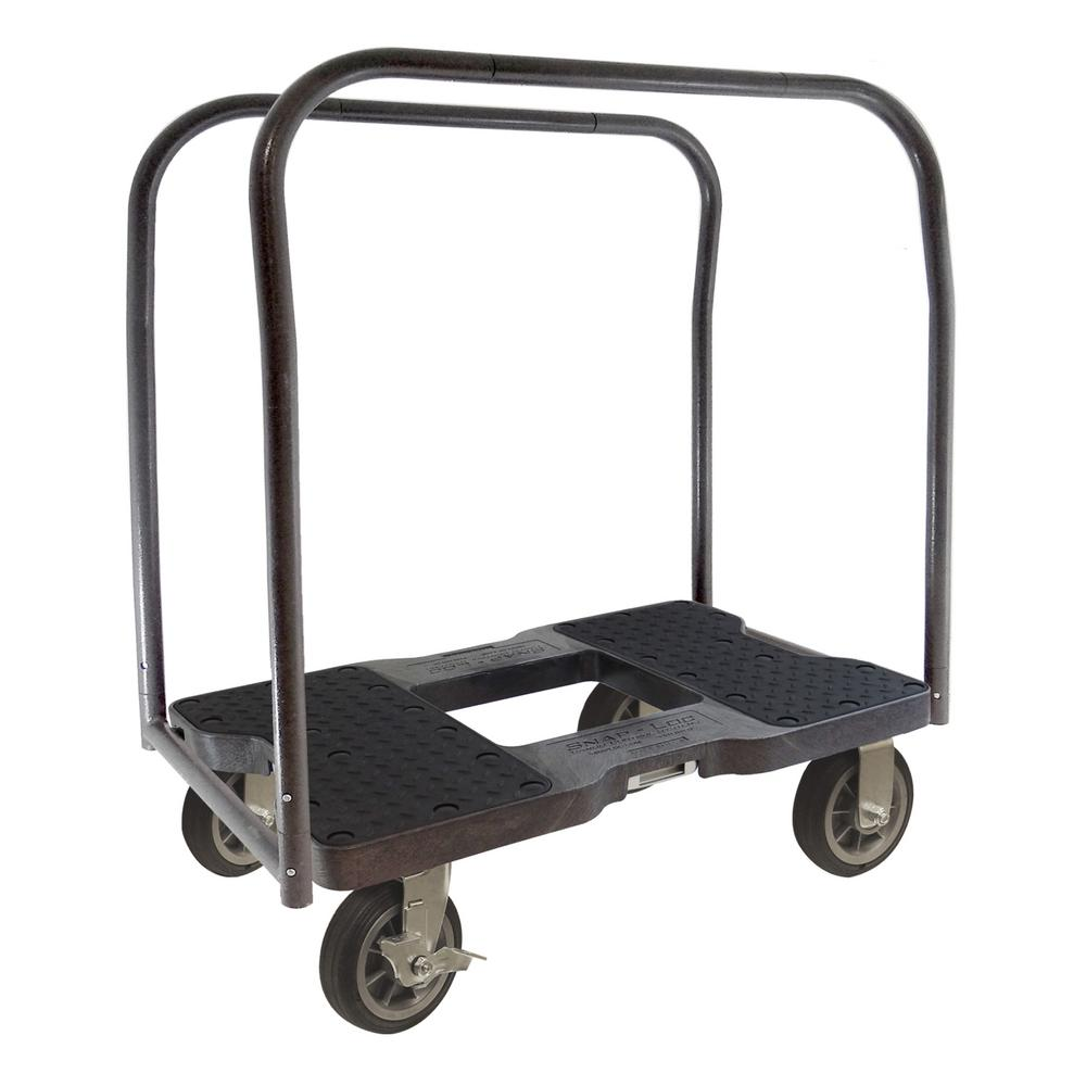1,500 lb. Capacity All-Terrain Panel Cart Dolly in Black