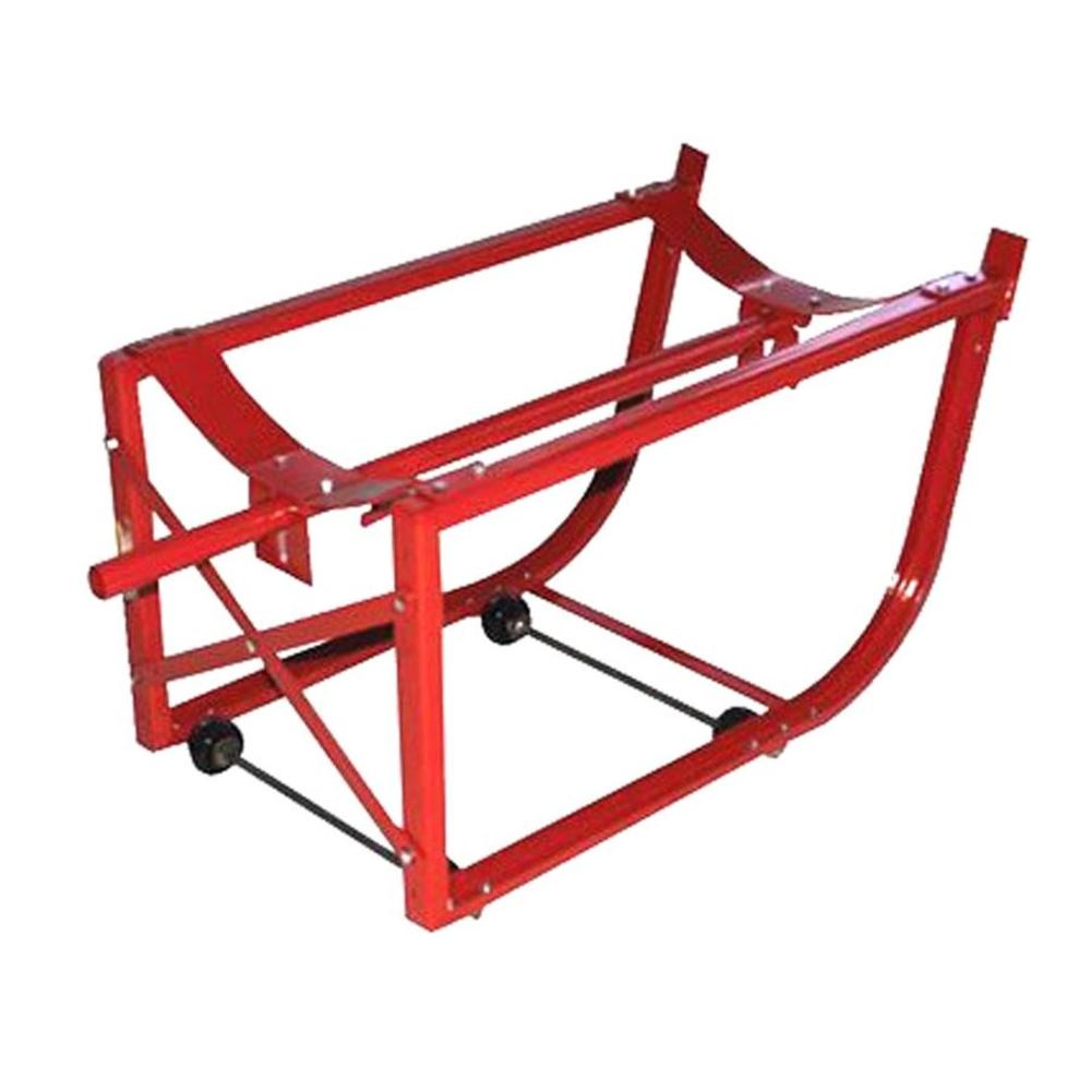 800 lbs. Capacity Mobile Drum Cradle
