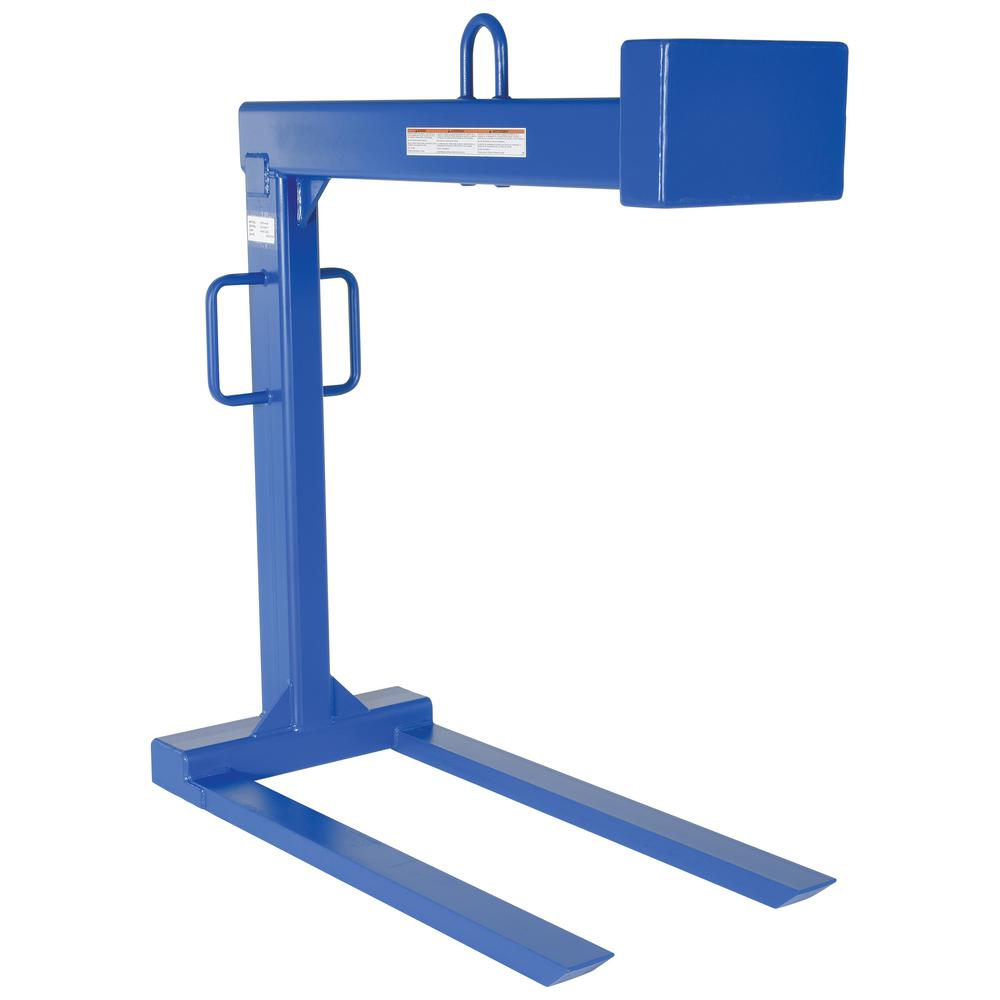4,000 lb. Capacity Pallet Lifter with 48 in. Forks