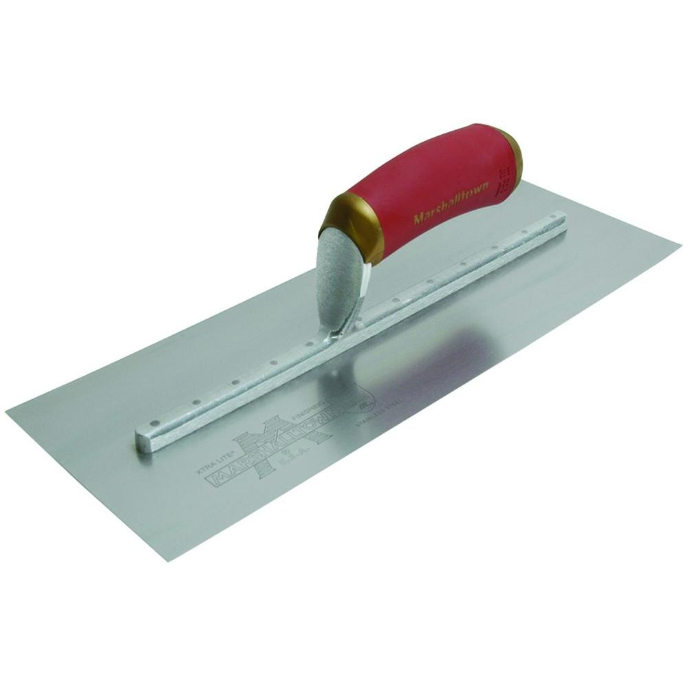 20 in. x 5 in. PermaShape Broken-In Trowel