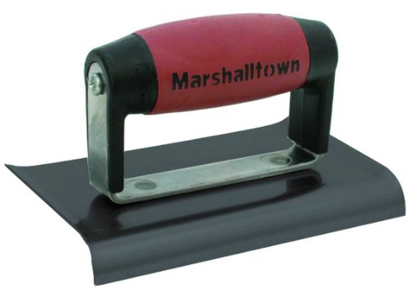 Marshalltown 121BD 6 X 3 BS Edger-Curved Ends 1/2R, 5/8L-DuraSoft Handle