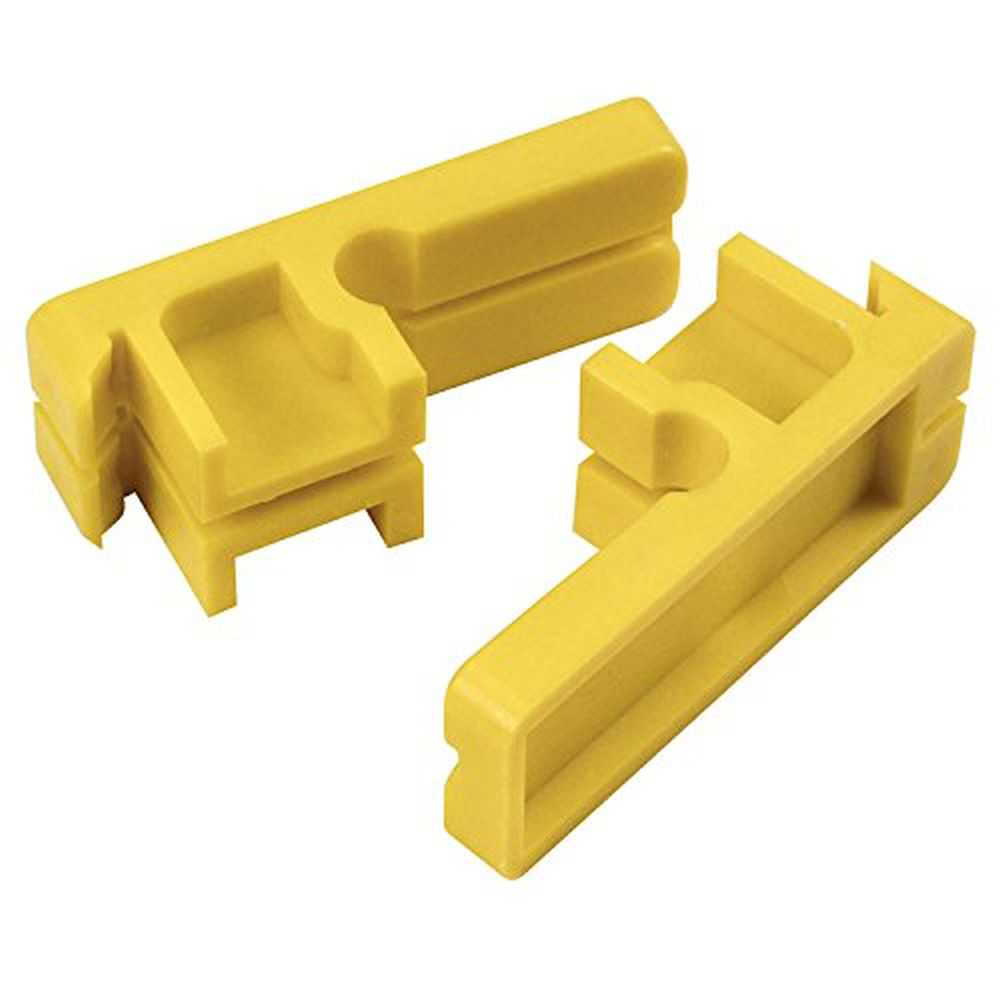 Kraft BL348 Tenite Plastic Line Blocks-Bagged Pair